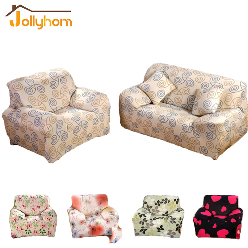 Flexible Stretch Sofa Cover Big Elasticity Couch Cover Loveseat Sofa  Funiture Cover 1pc Flower Design 8