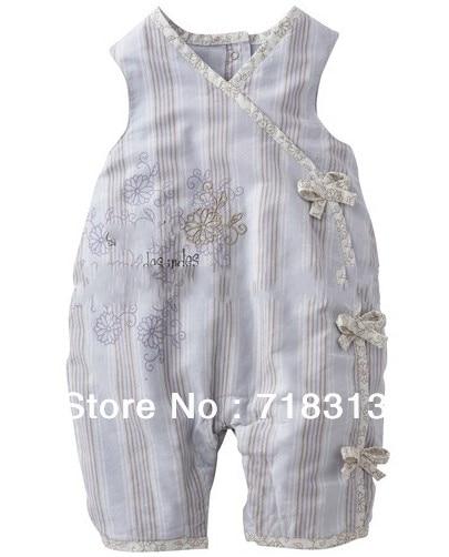 b421e3436 Bebé mamelucos de algodón, Babys moda ropa de verano, 100% algodón,  strappy, 5 unids/lote, al por mayor de ropa Babys