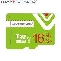 Hot Sale Green Memory Card Wansenda Micro SD Card Class 10 8gb 16gb 32gb TF Card