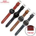 Laopijiangsuitable Ticwatch moto 360 dos generación de inteligente relojes con Correa De Cuero 22 MM