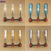 IWHD Лофт промышленный винтажный настенный светильник переключатель водопровод свет Ретро Железный настенный светильник для домашнего осве...