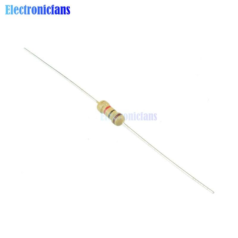 100 x Resistors 1M Ohms OHM 1//4W 5/% Carbon Film NEW