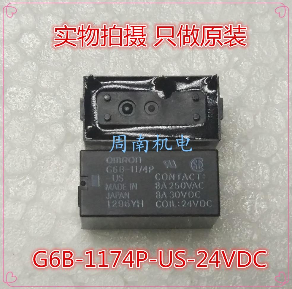 10pcs 4pins 24V G6B-1174P-US-24VDC OMRON Relay