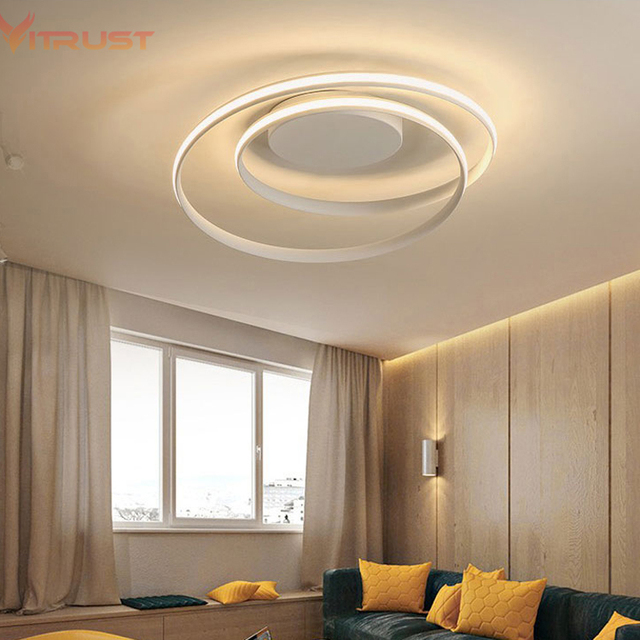 Creative Acrylic Led Lamp Crystal Lustre Plafonnier Home Deco Ceiling Lamp  Modern Acrylic LED Ceiling Lights For Living Room