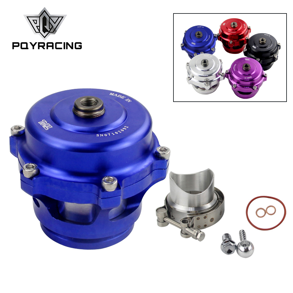 Universal Jdm 50mm V Band Blow Off Valve BOV Q Typer w/ Weld On Aluminum Flange with logo PQY5765