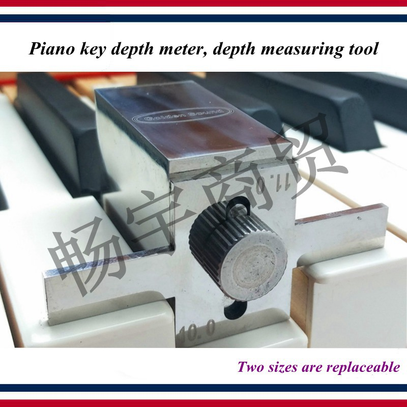 Piano Tuning Tools Accessories Piano Key Depth Meter  White Keys Depth Measuring Tool Piano Repair Tool Parts
