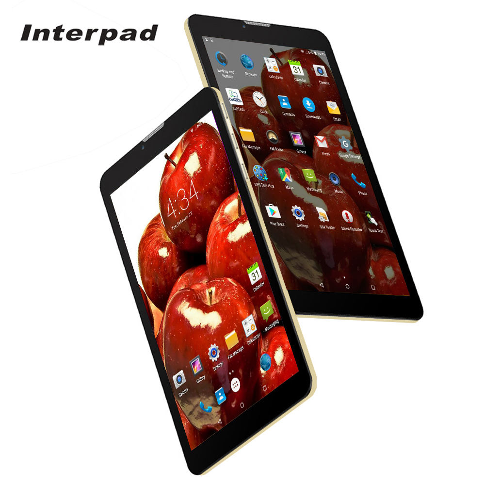 Interpad 73G Tablet PC MTK6582 Quad Core 1.5GHz 2.5D IPS scree 1280*800 WiFi GPS USB dual SIM phone call Android tablets 8 9 10 interpad 3g tablet 10 1 inch quad core mtk6582 ips 1280 800 dual sim phone call tablet 2gb ddr3 16gb rom wifi android tablet pc