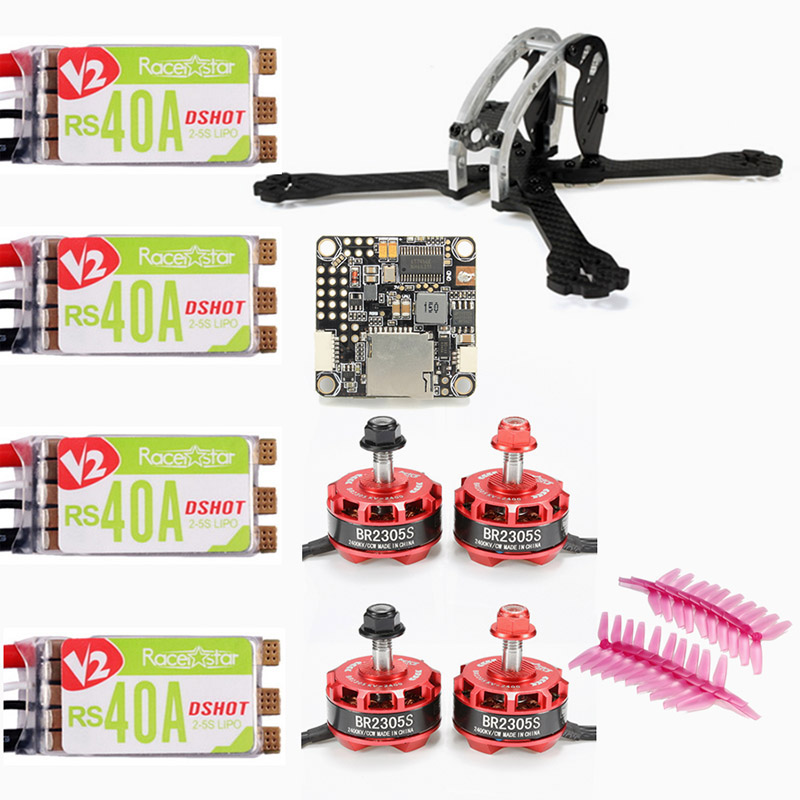 2017 New Arrival Realacc D215 FPV Racing Frame w/ Racerstar BR2305S 2400KV Motor RS40A V2 BLHELI_S ESC 5042 Prop F4 For RC Drone цена и фото