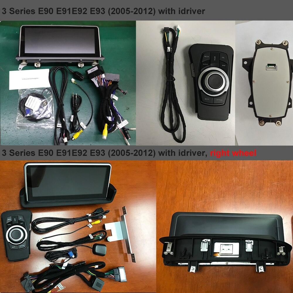 Android 8,1 IPS экран Автомобильный мультимедийный стерео для BMW 3 4 серии F30 F31 F34 F35 E90 E91 E92 E93 GPS Bluetooth навигация WIFI парковка - 4