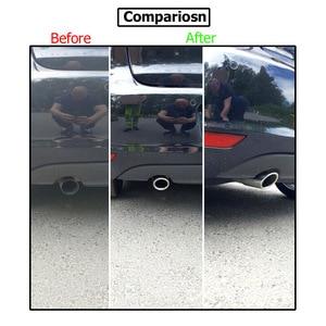 Image 4 - 2pc Silenziatore Di Scarico Suggerimenti Per VW Polo 6R Bora Golf 5 6 7 Mk7 Scirocco 1.4T Tiguan 1 coda Tubo Tubo di Scappamento Finisher End Trim Copertura