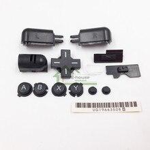Siyah Renk Sol Sağ ABXY LR Tam Düğme Seti için Yedek DS Lite NDSL için Düğmeler Kiti