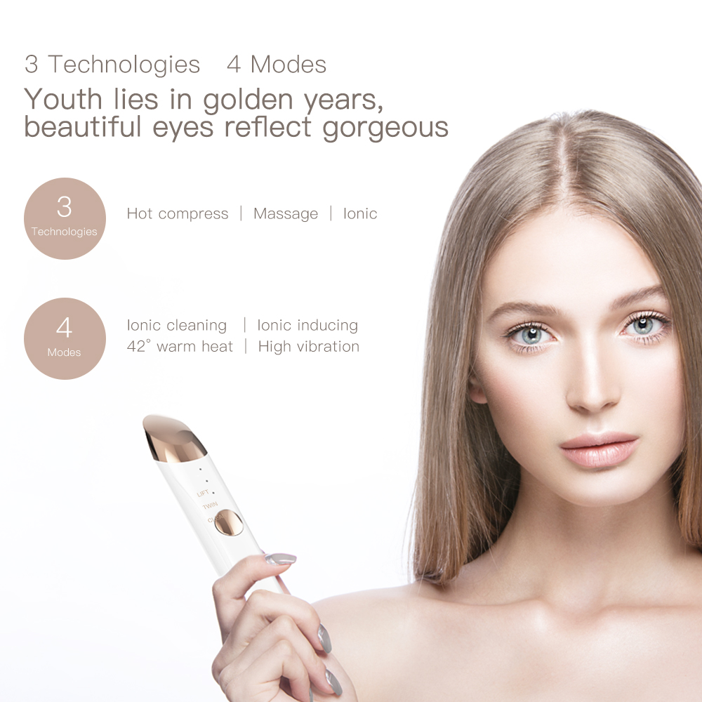 Image 2 - PRETTYME Electric Facial Massager Ion Repair Wrinkle Active skin Beauty Care Tool Electronics facial Skin Care tool-in Face Skin Care Tools from Beauty & Health
