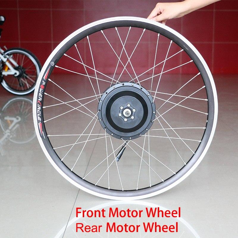 Zestaw do roweru elektrycznego 36 v/48 v szybki silnik koła 20