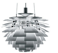 38CM Modern Pendant lights Louis Poulsen PH Artichoke Pendant Lamp Denmark Designer Pendant Lighing Silver lamparas colgantes