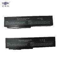 HSW 6 תאי סוללה עבור Asus A32-M50 A32-N61 A33-M50 N61J N61Ja N61jq N61jv N61 n61vg n61d A32 M50 M51 M60 M70 G51J G50v bateria
