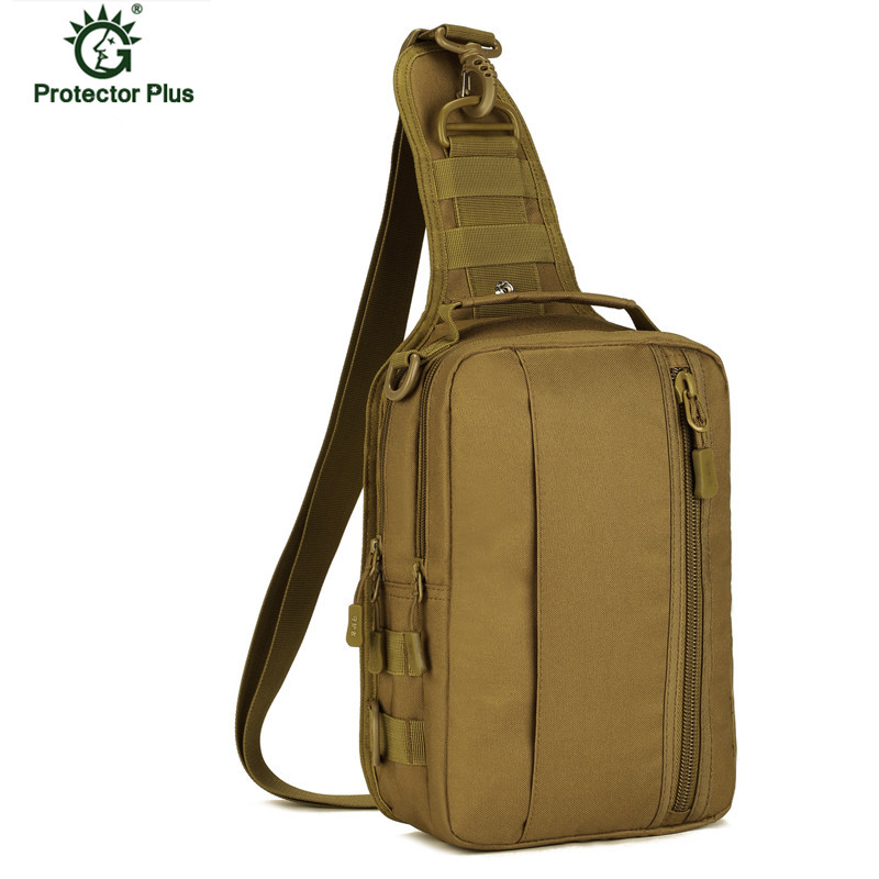 Field Chest Sling Bag Single Shoulder Bag Man Big Large Ride Travel Bag military Chest Bag X54 in Waist Packs from Luggage Bags