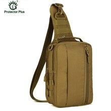 Tactical Chest Sling Bag Outdoor Sport Single Shoulder Man Ride Travel militar L54