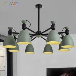 Nowoczesne lampy wiszące Luminaria żyrandol do salonu nabłyszczania żyrandol żyrandole sufitowe i wisiorki do jadalni