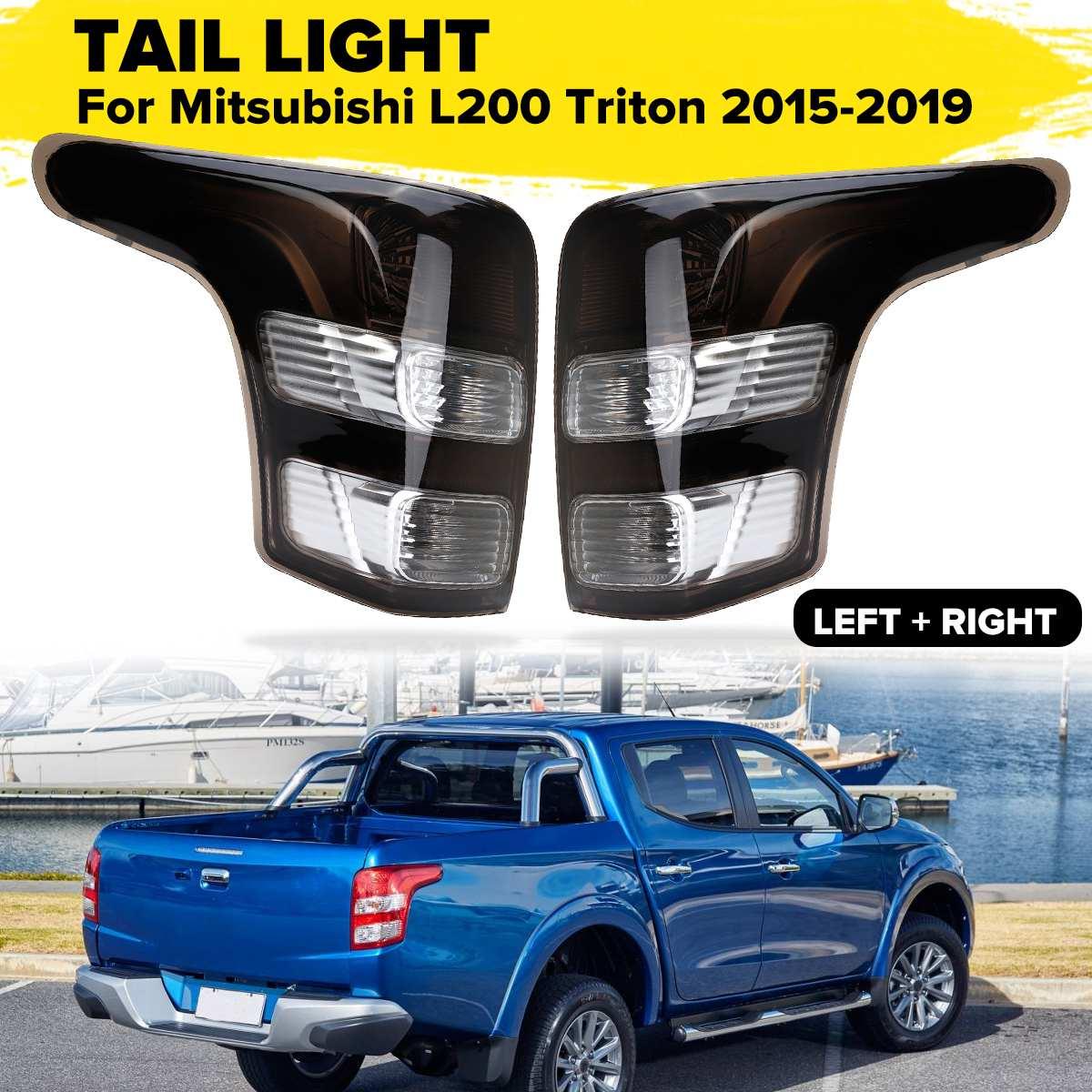 Black Left/Right Tail Light Lamp Right Side for Fiat for Strada for Mitsubishi for Triton L200 2015 2016 2017 2018+  no harnessBlack Left/Right Tail Light Lamp Right Side for Fiat for Strada for Mitsubishi for Triton L200 2015 2016 2017 2018+  no harness