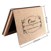 New Brand DIY Small Rose Golden Z Paleta De Maquiagem Bronzer Powder Blush Blusher Eye Magnetic