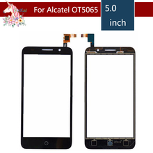 10pcs/lot For Alcatel One Touch Pixi 3 4G OT5065 5065A 5065D 5065X OT 5065  Touch Screen Digitizer Sensor Outer Glass Lens Panel цены онлайн