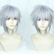 MOCODAR Game Kingdom Hearts III Riku Role Play Iron- Gray Halloween Cosplay Costume