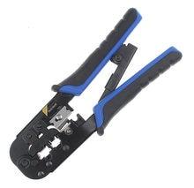 Высокое качество модульные Обжимные Щипцы для связи инструмент сетевой кабель трещотка Обжимные Щипцы Для 4P 6P 8P RJ-11/RJ-12 RJ-45