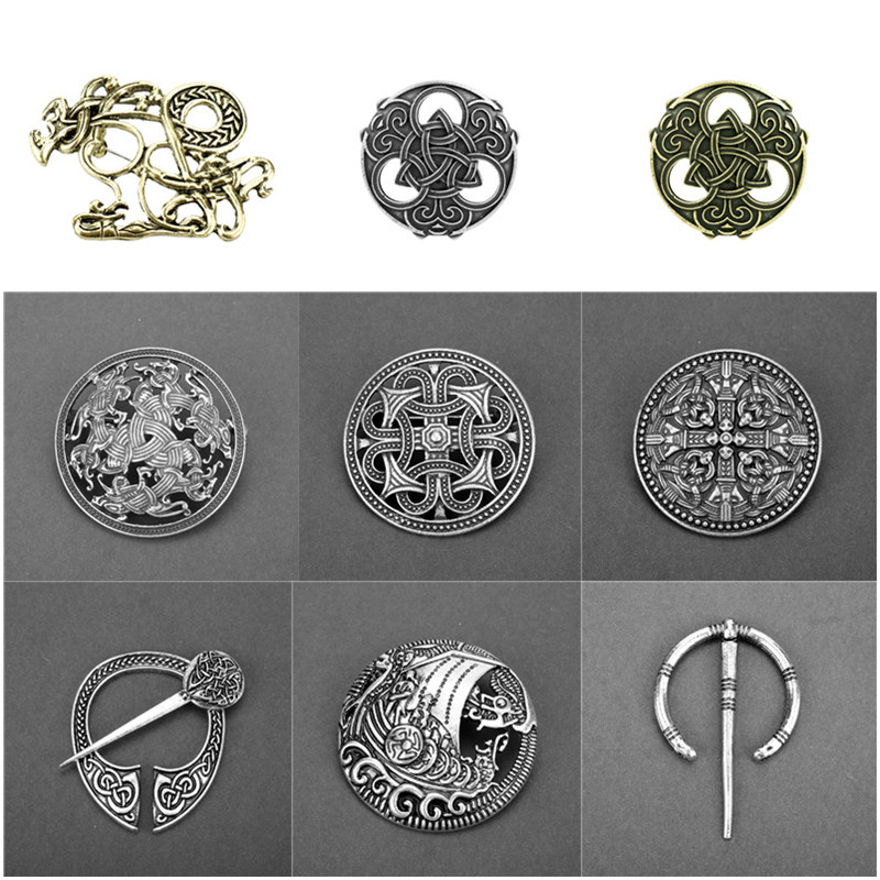 Fashion Jewellery Medieval Viking Penannular Brooch Round Cloak Pin Clasp Sweater Vintage Jewelry Jewellery Watches Vishawatch Com