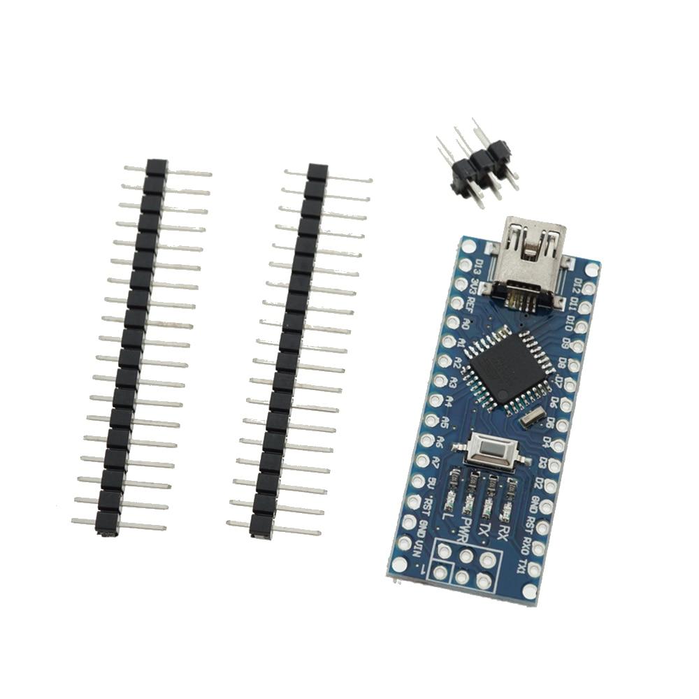 Nano V3.0 Controller For Arduino ATMEGA328P Original CH340 +USB Cable  DIY Starter Kit For Arduino