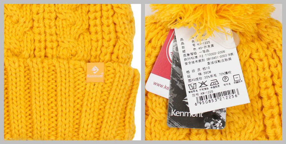 Holiday Sale Kenmont New Arrival Brand Wool Hand Knit Winter Beanie ... 6345aa9fd272