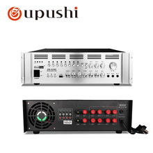 2000W Big Power Amplifier For Audio System Public Address System 8 Zone Volume Control