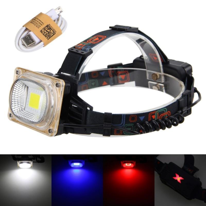 Led Spotlight Headlamp: 1000Lumens LED Headlamp Head Lamp Waterproof Rechargeable