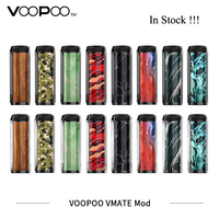 New Electronic Cigarettes Mod VOOPOO Vmate Mod 200W Dual Battery TC Box Mod Fit for UFORCE T1 8ml Tank Vaporizer VS Drag 2 Mod