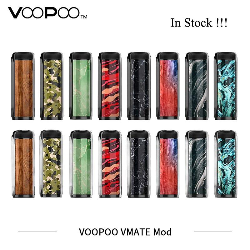 Nouvelles Cigarettes électroniques Mod VOOPOO Vmate Mod 200 W double batterie TC boîte Mod adapté pour UFORCE T1 8 ml réservoir vaporisateur VS glisser 2 Mod