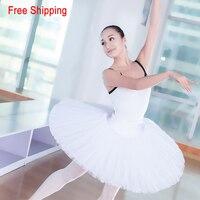 Girls Adult Half Ballet Tutu Hard Organdy Platter Skirt Ballerina Tutu Ballet Dance Practice Wear