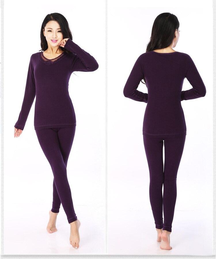Aliexpress.com : Buy winter warm costume women thermal underwear ...