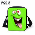 Mini Kids Baby Smiley Schoolbag Funny Design Cross body Bags for School Student Girls Colors  Emoji Prints Shoulder Book Bag