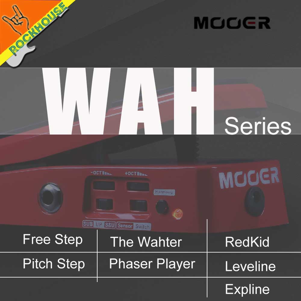 Musical Instruments Guitar Parts & Accessories Energetic Mooer Wah Wah Guitar Effects Pedal Guitar Expression Pedal Volume Pedal Foldable Vocal Simulator Analog Tone Free Shipping Reasonable Price