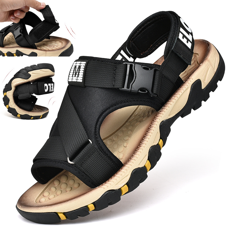 bd76420fd Online Shop 2019 Summer New Men s Sandals Korean Version Of The Trend Of  Outdoor Casual Beach Shoes Men s Woven Roman Sandals