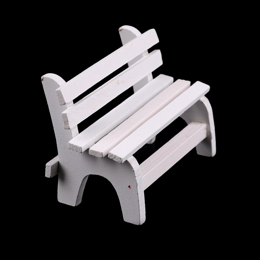 Cool Us 1 41 21 Off Toyzhijia New Mini Chair Bench Stool Ornaments Wooden Props Diy Toys Home Garden Decor Miniatures Dollhouse Furniture In Furniture Ncnpc Chair Design For Home Ncnpcorg