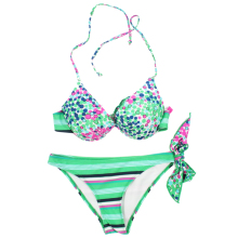 2017 Newest Women Bikini New Hot Top Sexy Women Swimsuit Micro Bikini Set Bathing Suits With Halter Strap Swimwear