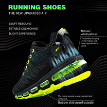 Men's running colorful mesh breathable sneakers for outdoor sports
