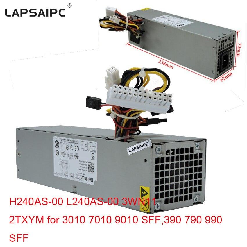 Lapsaipc 240 W alimentation H240AS-00 L240AS-00 3WN11 2 TXYM pour 3010 7010 9010 SFF, 390 790 990 SFF PC ordinateur de puissance