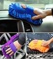 Ultrafino de fibra chenilla Anthozoan guantes de lavado de coches de microfibra de la motocicleta del coche lavadora suministros de cuidado de coches cepillos para el coche y el hogar