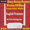 Английский Прошивка Tenda Wireless N маршрутизатор для домашней сети WI-FI ретранслятор Точка Доступа 300 Мбит 4 Порта 802.11 г/b/н N301/N302 модель