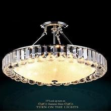 Lampadario Modern Crystal Chandelier Dia48*H45cm Lustres Ceiling Fixture