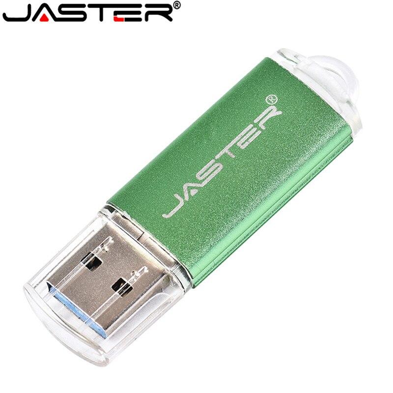 JASTER  Metal USB Flash Drive Mini USB Stick Pen Drive 8GB 16GB 32GB 64GB Real Capacity Pendrive   Flash Memory Stick