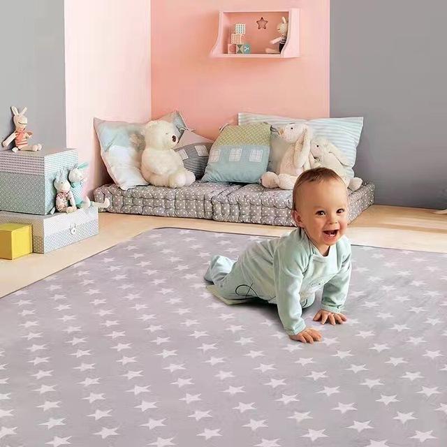 Nordic Estilo Estrela Dos Desenhos Animados Tapetes de Jogo Do Bebê Engatinhando Tapete Cobertor Tapete Brinquedos Para Crianças Decoração do Quarto Crianças Jogar Jogos