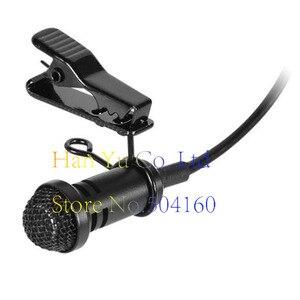 Micrófono condensador cardioide estéreo solapa Lavalier profesional para transmisor de petaca inalámbrico Sennheiser 3,5mm bloqueable