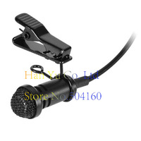 Professional Lavalier Lapel Stereo Cardioid Condenser Microphone For Sennheiser Wireless BodyPack Transmitter 3.5 mm Lockable